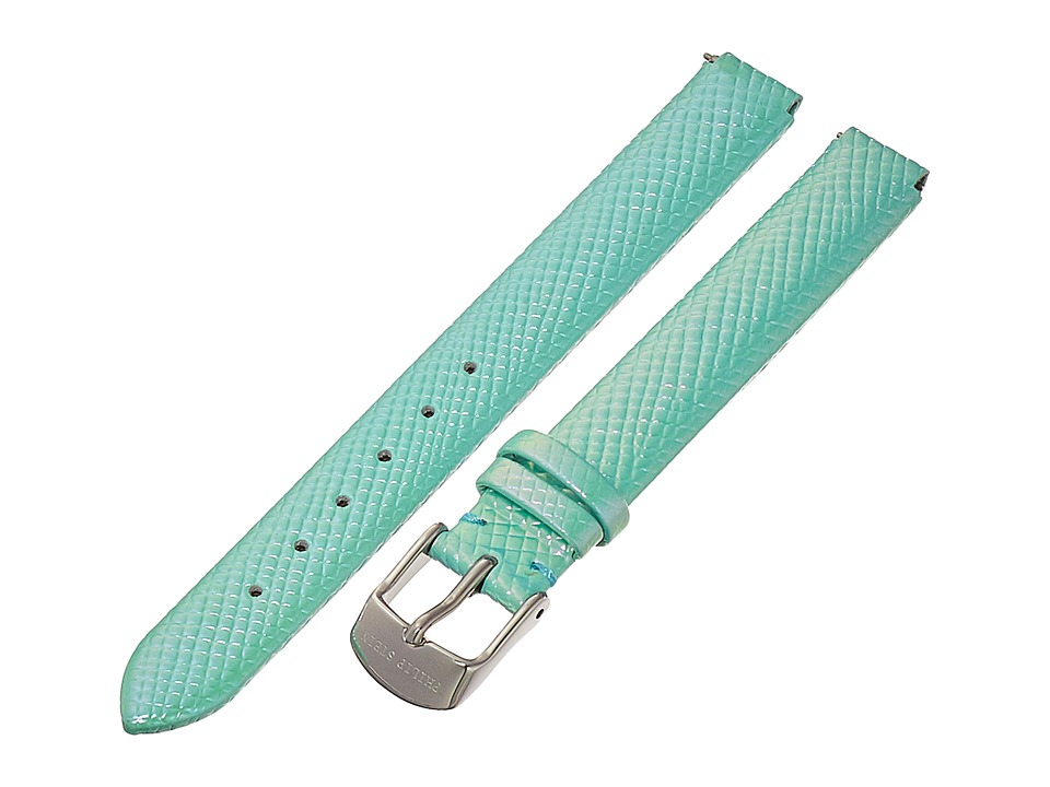 Philip Stein - 12mm Iridescent Calf Strap (Green) Watches