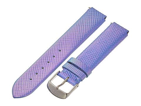 Philip Stein - 18mm Iridescent Calf Strap (Blue) Watches