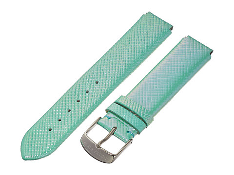 Philip Stein - 18mm Iridescent Calf Strap (Green) Watches