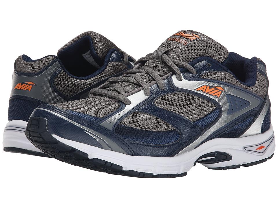 Image of Avia - Avi-Execute (Steel Grey/True Navy/Chrome Silver/Rhythm Orange) Men's Shoes