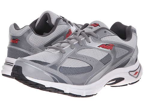 Avia - Execute (Frost Grey/Iron Grey/Formula One Red) Men's Shoes