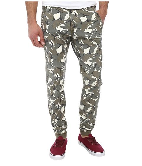 True Religion - Printed Camo Runner (Olive) Men's Clothing