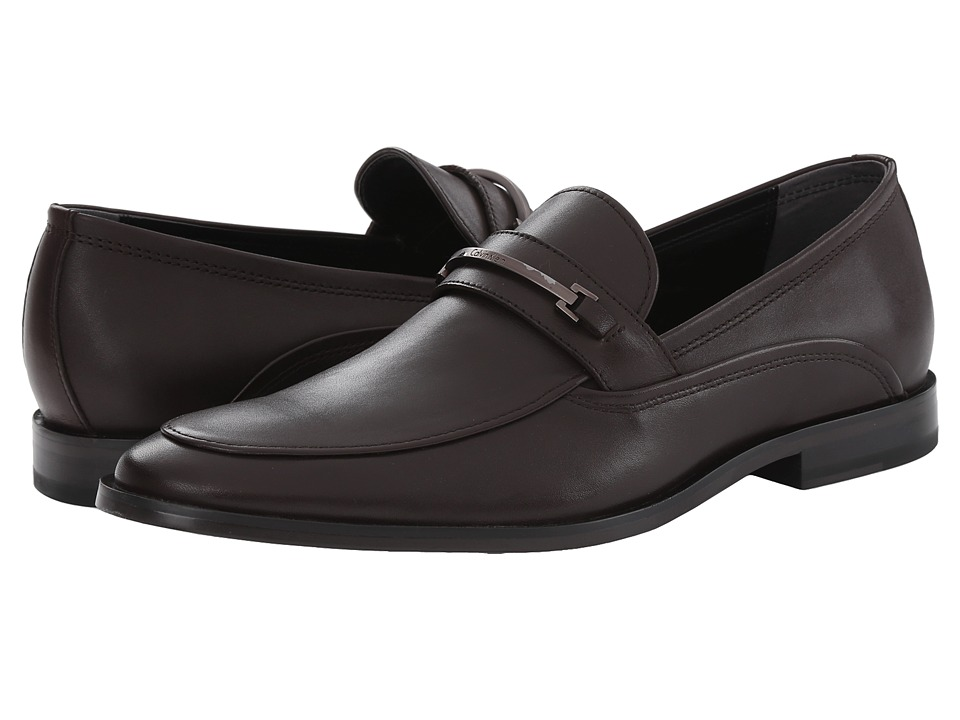 Calvin Klein Nordon (Dark Brown Leather) Men