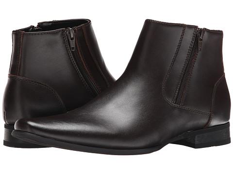Calvin Klein - Beck (Dark Brown Leather) Men