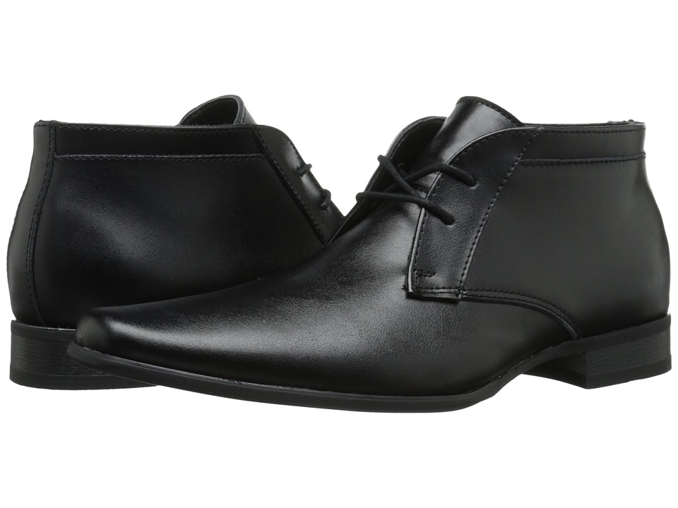 Calvin Klein - Ballard (Black Leather) Men