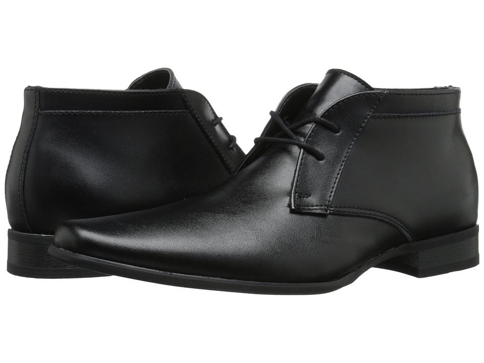 Calvin Klein Ballard (Black Leather) Men
