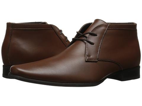 Calvin Klein - Ballard (British Tan Leather) Men's Shoes