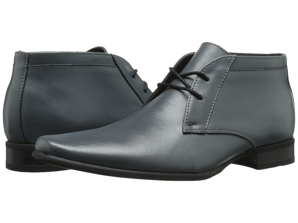 Calvin Klein - Ballard (Steel Leather) Men's Shoes