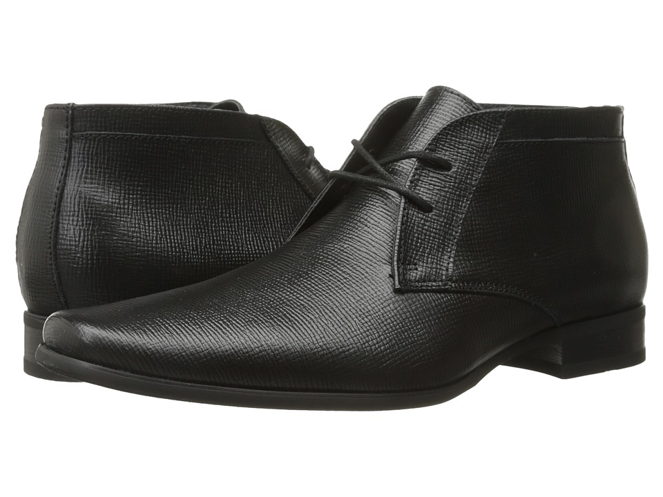 Calvin Klein - Ballard (Black Epi Leather) Men