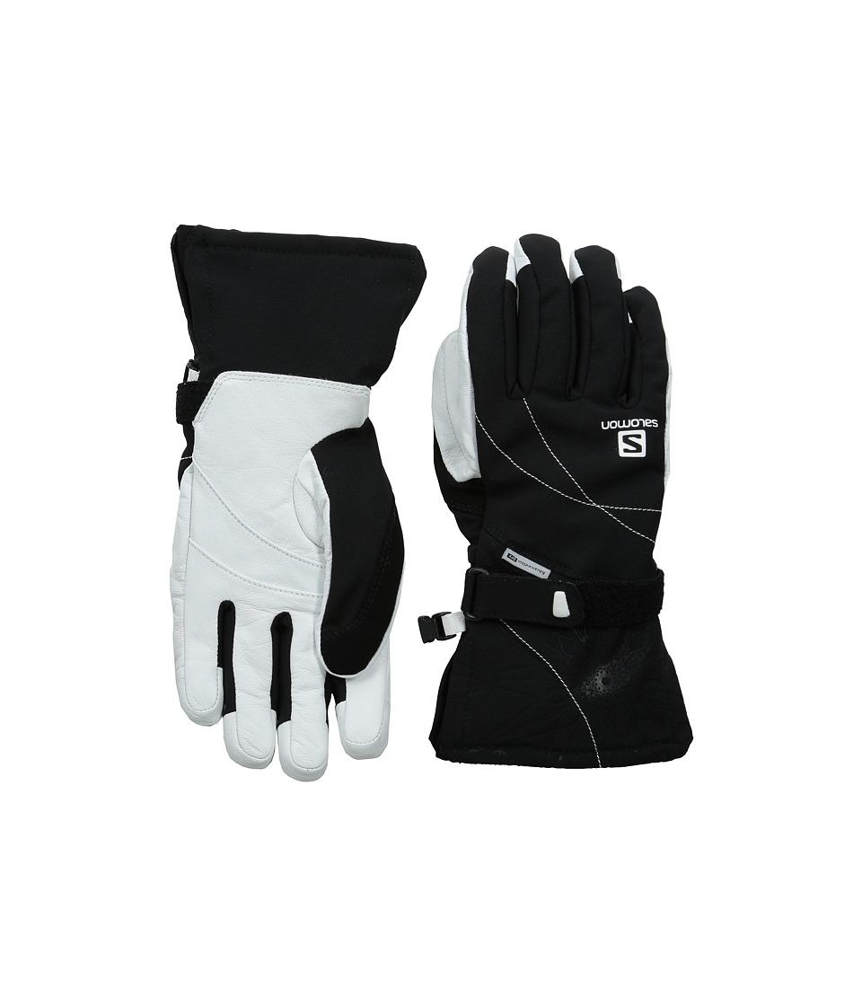 Salomon - Propeller Dry W (Black/White) Ski Gloves