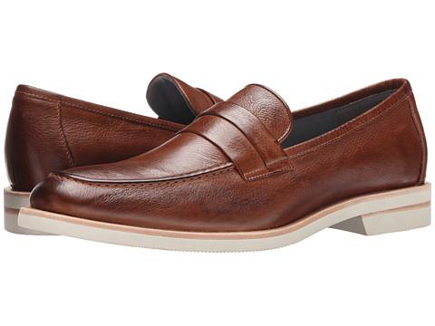 Calvin Klein - Yurik (Saddle Waxy Leather) Men