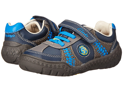 Clarks Kids - Stomp Roll (Toddler/Little Kid) (Blue) Boy's Shoes