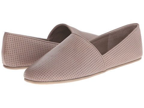Vince - Bogart-5 (Woodsmoke Baby GB Calf Leather (Perforated)) Women's Slip on Shoes