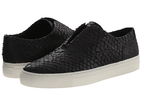 Vince - Nelson (Black Empire Python Print) Women's Slip on Shoes