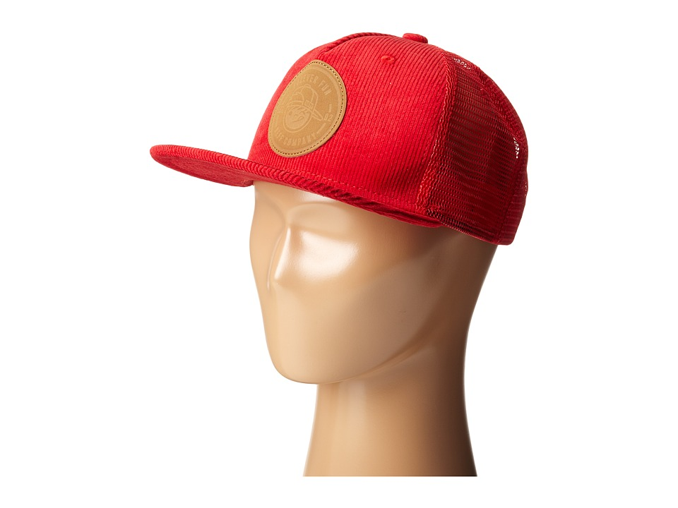 Neff - Jack Trucker (Red) Caps