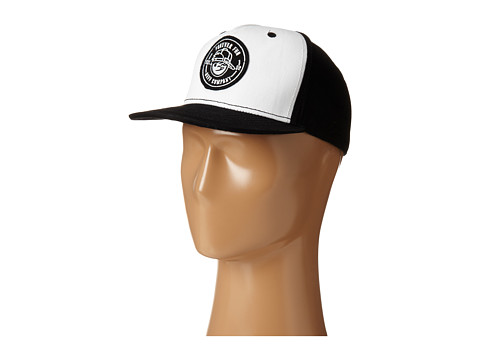Neff - Kenni Patch Cap (Black/White) Baseball Caps