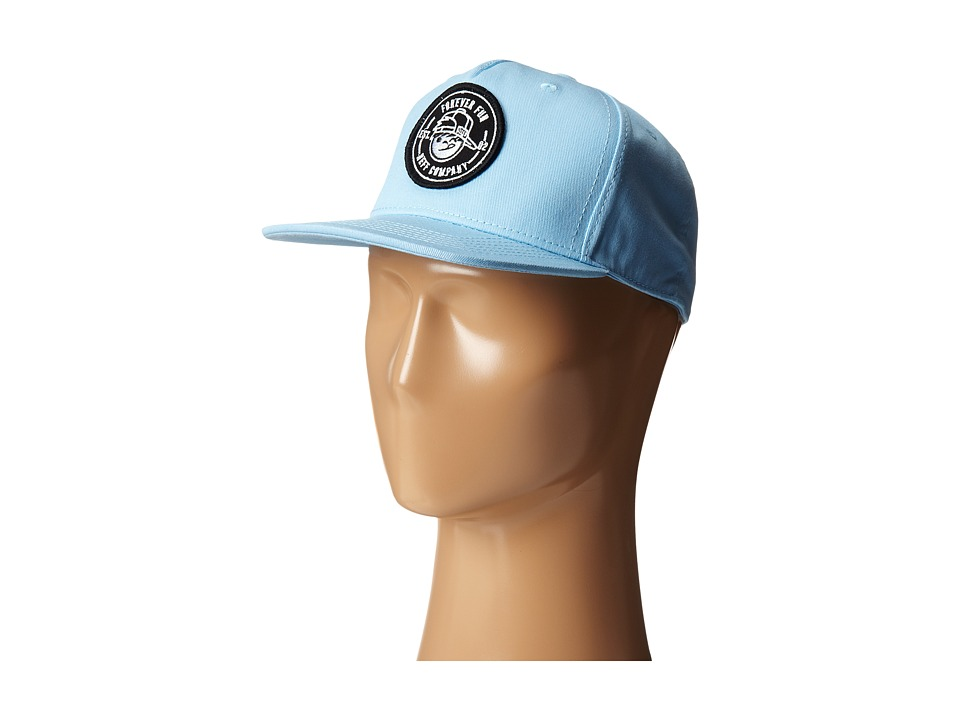 Neff - Kenni Patch Cap (Blue) Baseball Caps