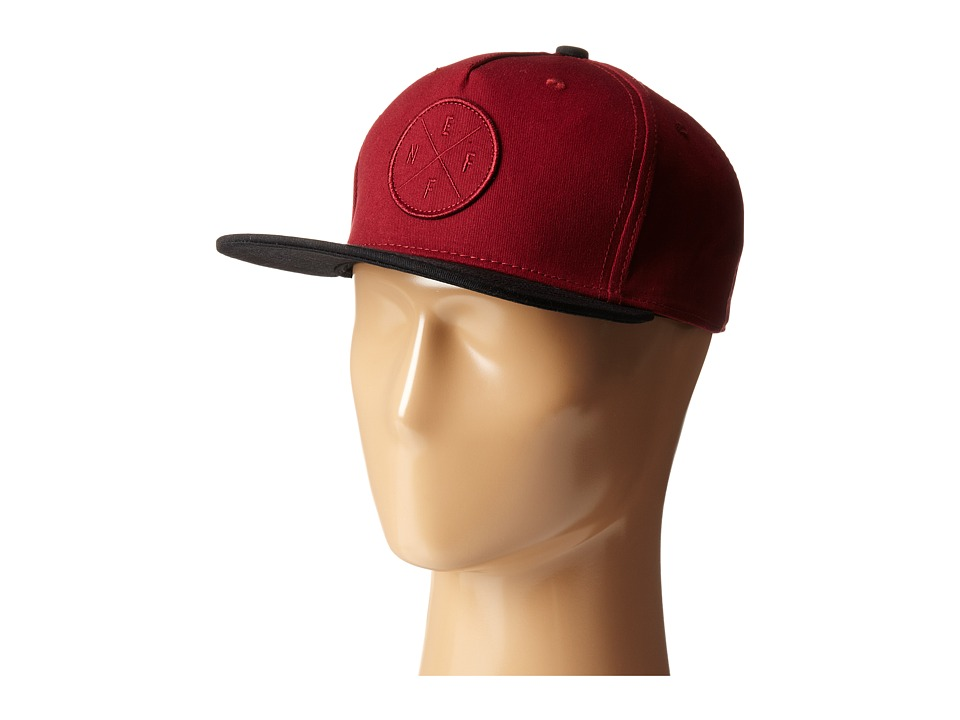 Neff - The X Cap (Maroon) Caps