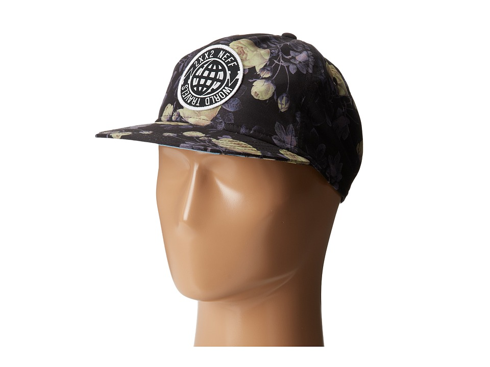 Neff - World Traveler Deconstructed (Black) Caps