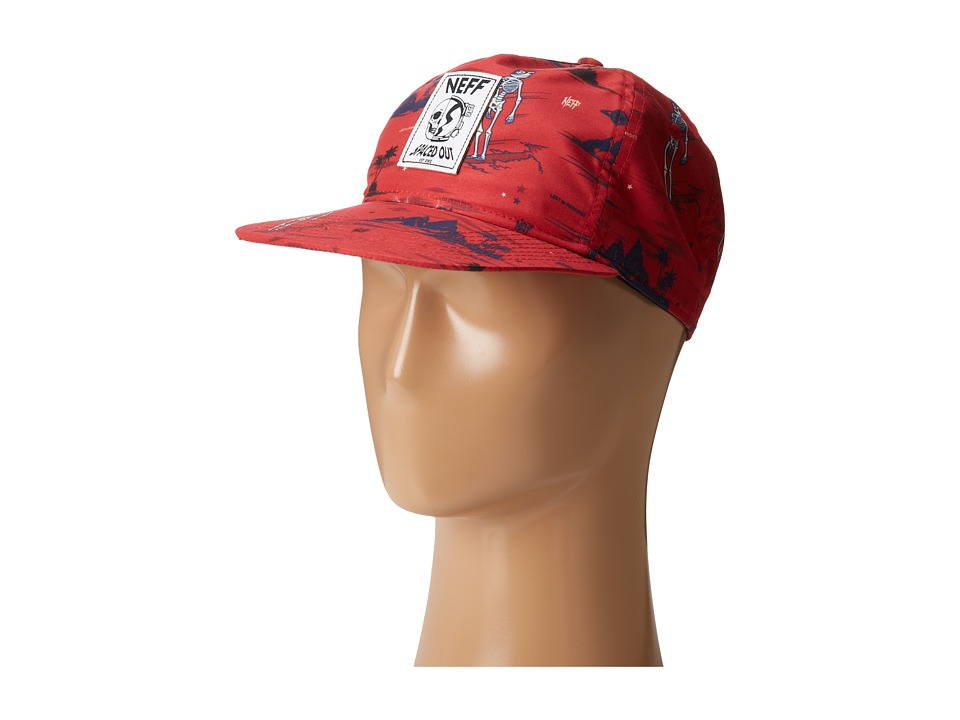 Neff - Space Out Snapback (Red) Caps