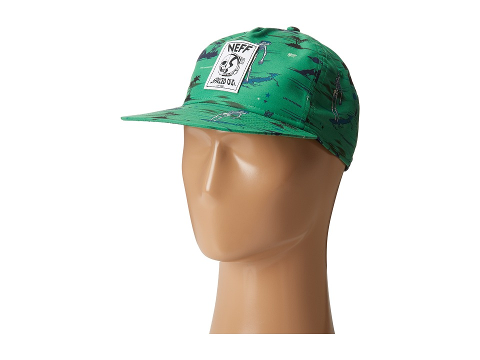 Neff - Space Out Snapback (Teal) Caps