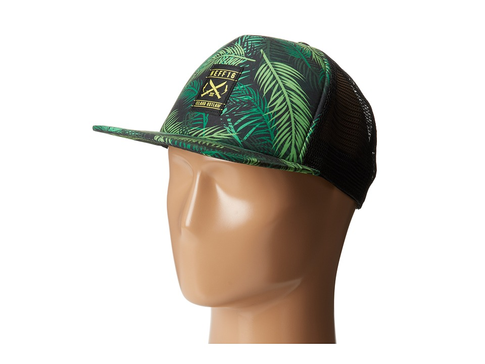 Neff - Bang Bang Trucker Hat (Green) Caps