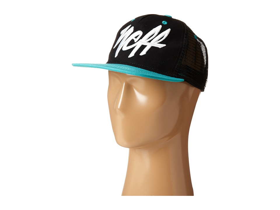 Neff - Mad Trucker Hat (Black) Caps