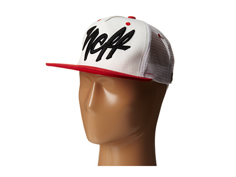 Neff - Mad Trucker Hat (White) Caps