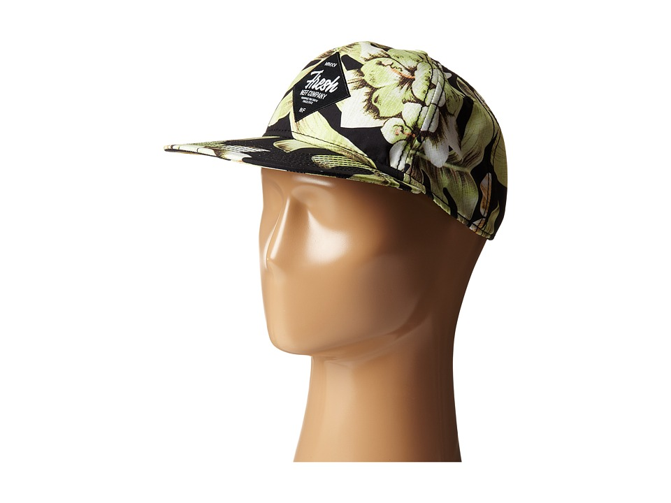 Neff - Filthy Floral Deconstructed (Black) Caps