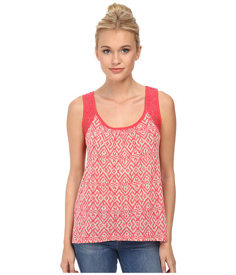 UNIONBAY - Kingston Geo Anna Tank Top (Dark Flamingo) Women's Sleeveless