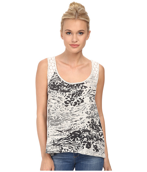 UNIONBAY - Party Animal Anna Tank Top (Natural) Women