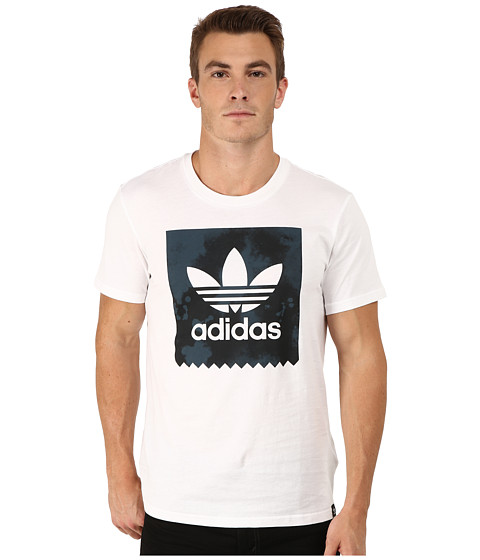 adidas Skateboarding - D2D Fill Tee (White) Men's T Shirt