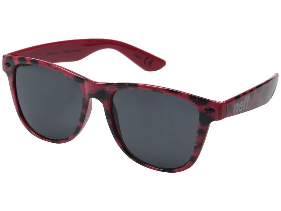 Neff - Daily Shades (Pink Leopard) Sport Sunglasses