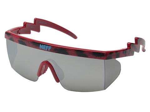 Neff - Brodie Shades (Pink Leopard) Sport Sunglasses