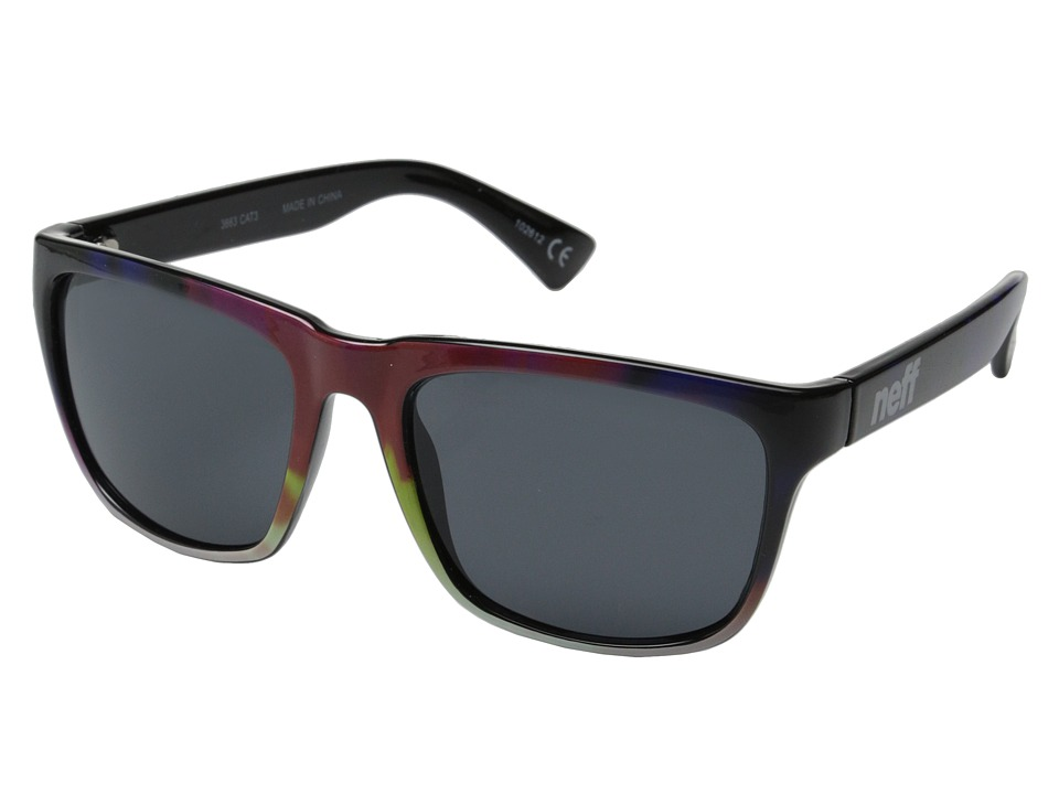 Neff - Chip Sunglasses (Tie-Dye) Fashion Sunglasses