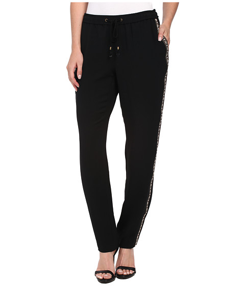 Adrianna Papell - Drawstring Waist Lounge Pants (Black) Women's Casual Pants