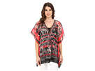 Placement Print Kaftan Top