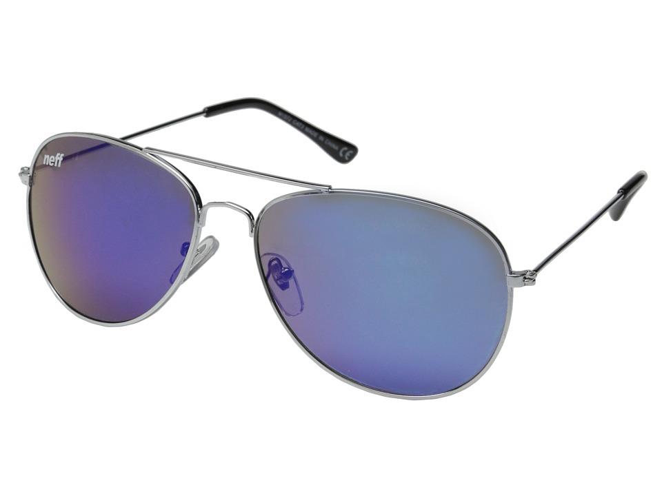 Neff - Bronz Shades (Silver) Sport Sunglasses