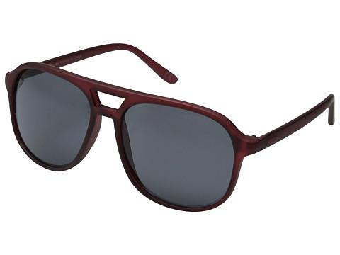 Neff - Magnum Shades (Burgundy) Sport Sunglasses