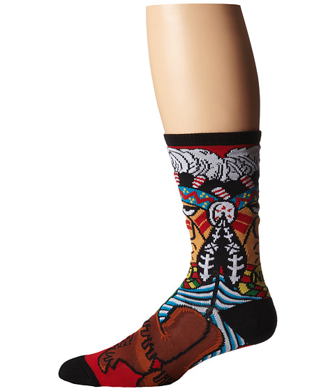 Neff - Chief Sock (Red) Men's Crew Cut Socks Shoes