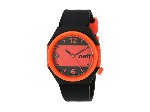 Neff - Stripe Watch (Black/Red) Watches