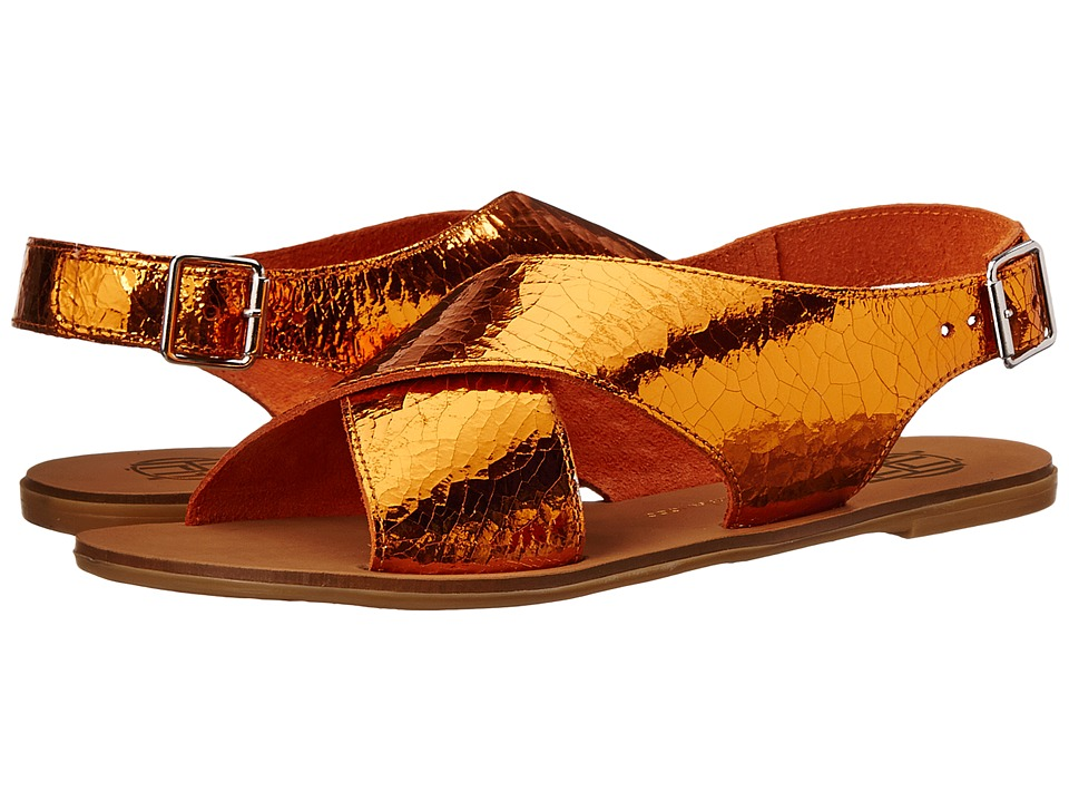 House of Harlow 1960 - Izzy (Orange) Women's Sandals