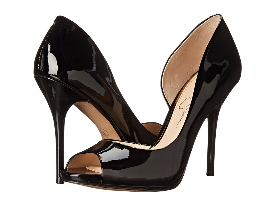 Jessica Simpson - Bibi (Black Patent) High Heels
