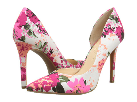 Jessica Simpson - Claudette (Soft Pink Combo Blossom Floral Print) High Heels