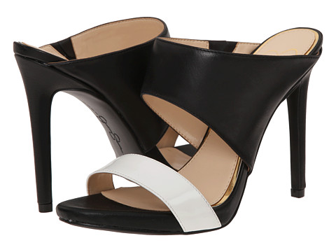 Jessica Simpson - Romy (Powder/Black Patent/Mari Buff) High Heels