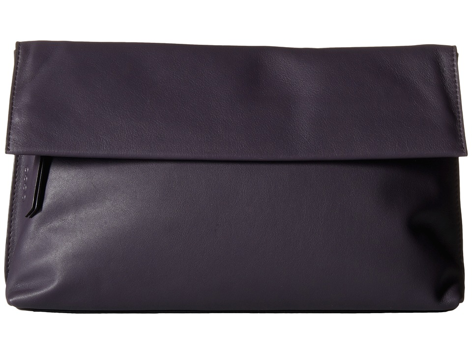 ECCO - Sculptured Clutch (Night Shade) Clutch Handbags