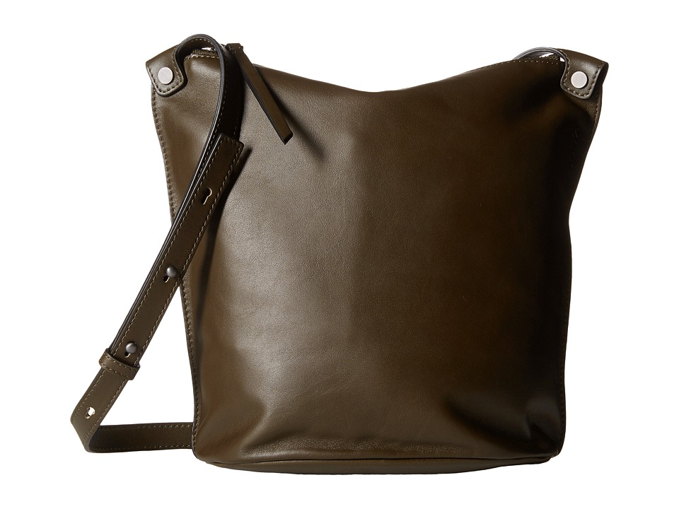 ECCO - Sculptured Small Bucket (Grape Leaf) Shoulder Handbags
