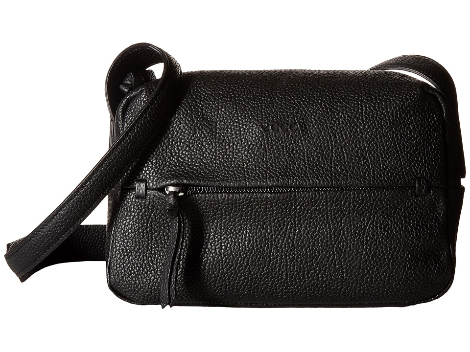 ECCO - SP Crossbody (Black) Cross Body Handbags