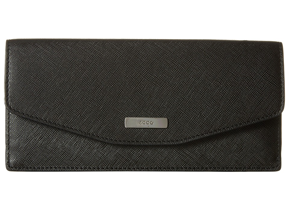 ECCO - Felicity Slim Wallet (Black) Wallet Handbags