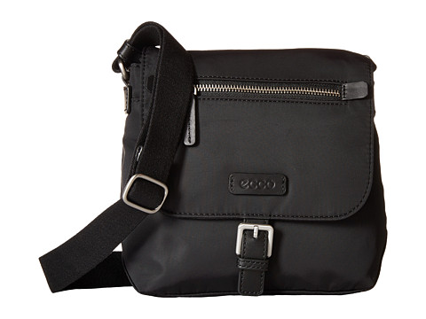 ECCO - Gibbs Crossbody (Black) Cross Body Handbags